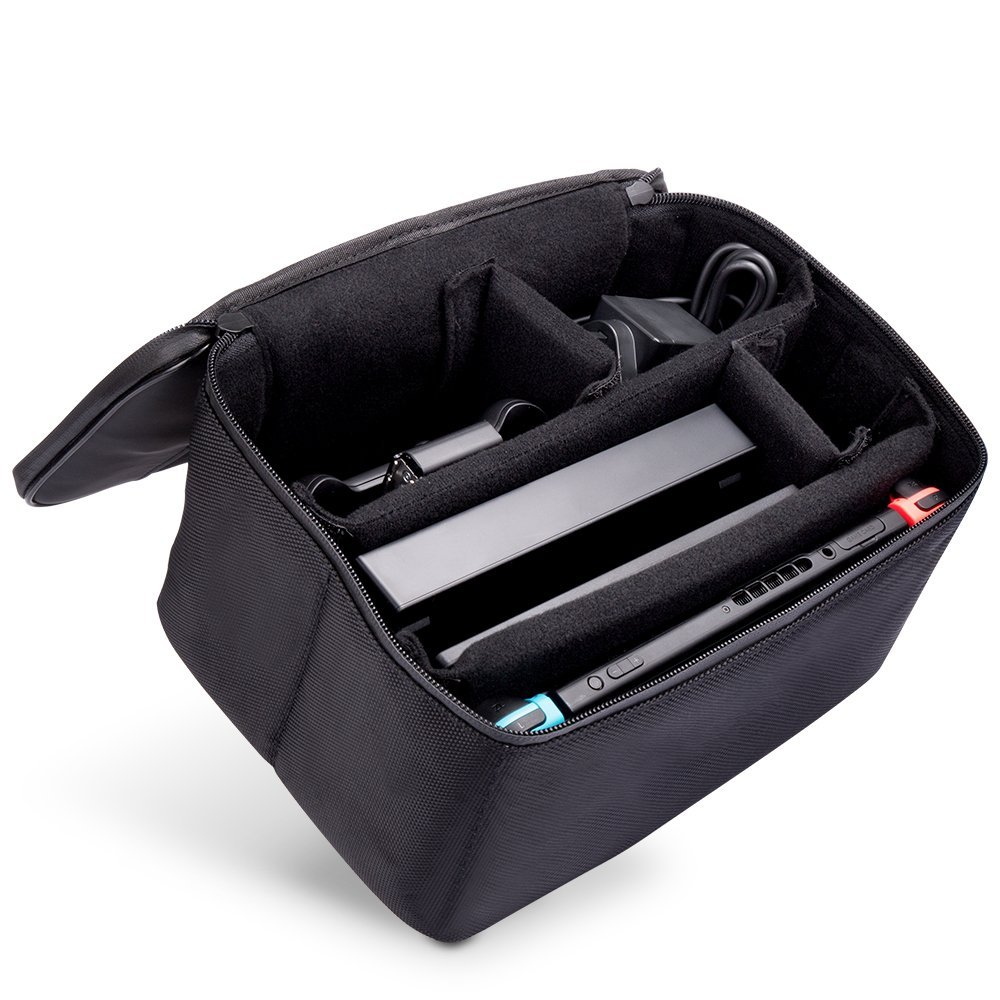 amazon iDudu ニンテンドースイッチ収納ケース!これは旅行や帰省には必需品でしょ!