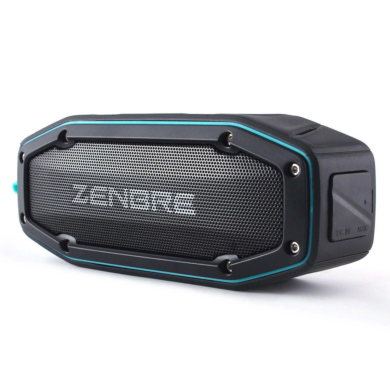 amazon ZENBRE Bluetoothスピーカー D6はアウトドア向きのスピーカー!