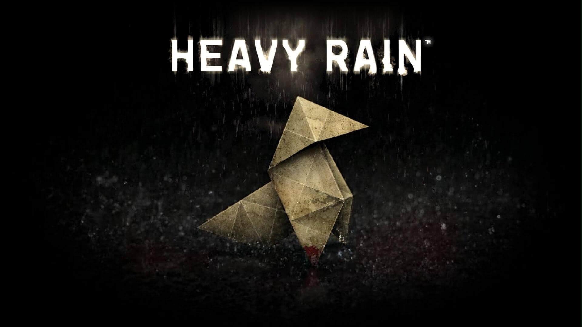 一通りクリアして次を考えてた時に丁度フリープレイが来た!今月はHEAVY RAINです