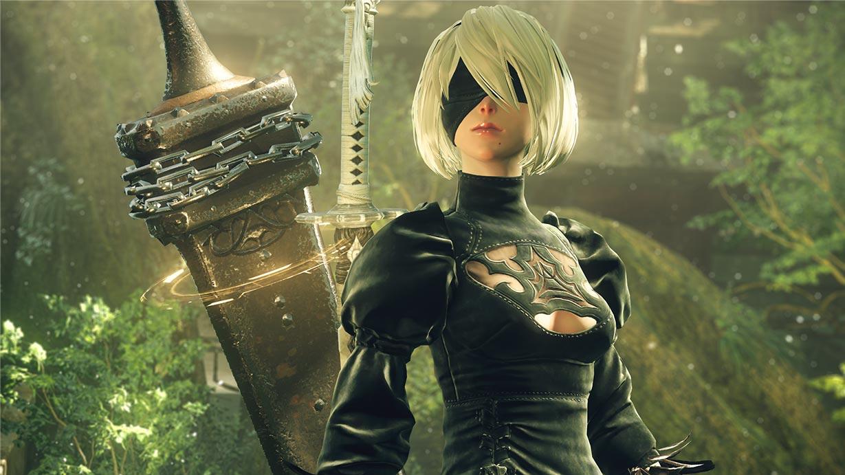 PS4ゲーム『NieR:Automata』(ニーアオートマタ)実機プレイ動画が配信されました